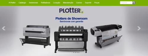plotters usadas manuntenção de plotters venda de plotters
