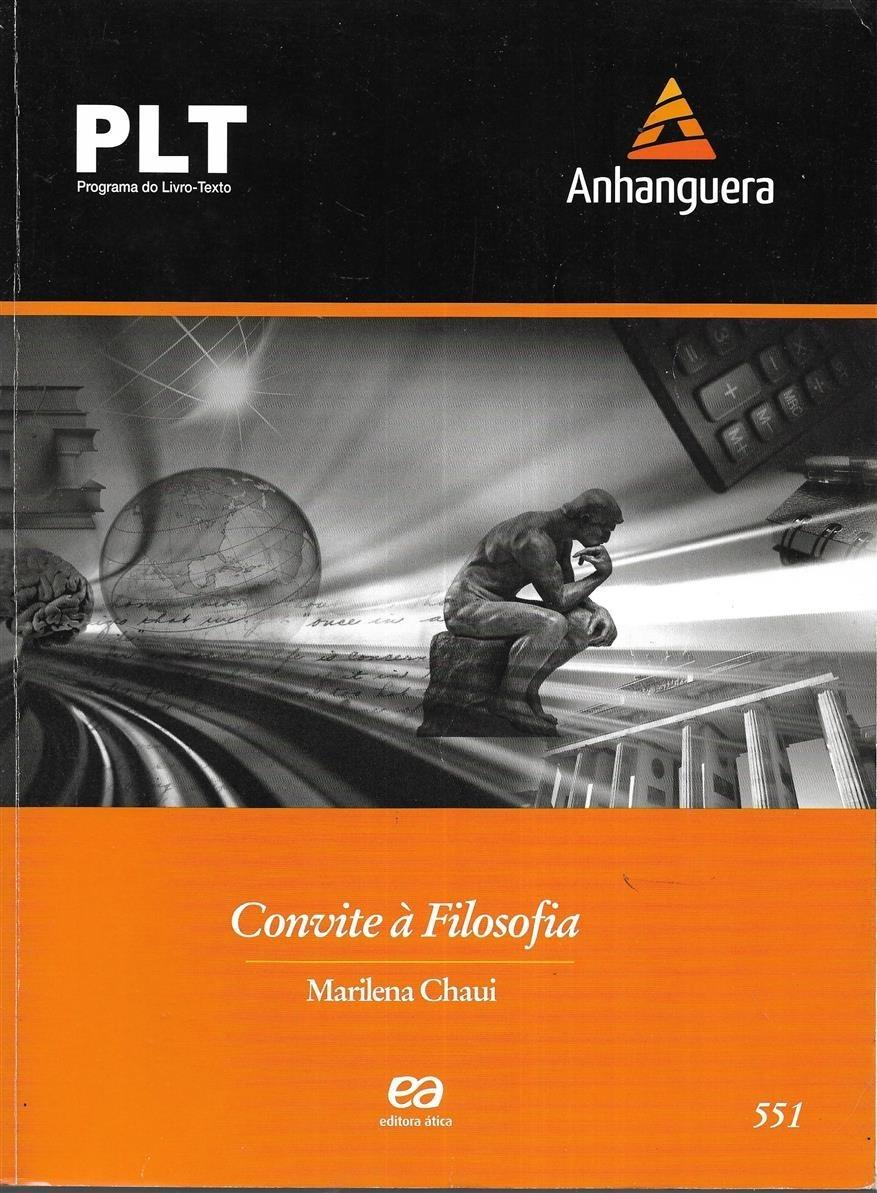 Plt 551 Convite à Filosofia Marilena Chaui 2013 ática R 7176