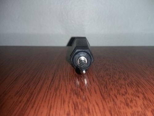 plug 3.5 m a jack 1/4 estéreo adaptador plástico 3 unidades