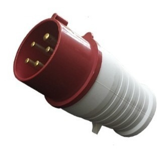 plug 63a 380/415v 3p+t+n