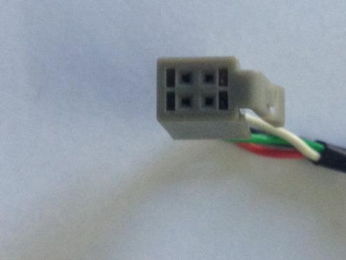 plug adaptador chicote usb original peugeot 207 multimidia