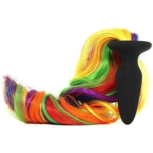 6dac24b96e8 Plug Anal Con Unicorn Color Tail Rainbow De Ns Novelties -   2.690 ...
