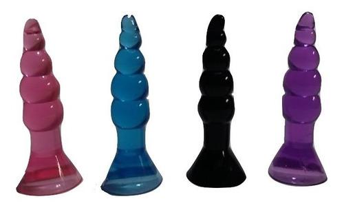plug anal unisex progresivo con base de succión