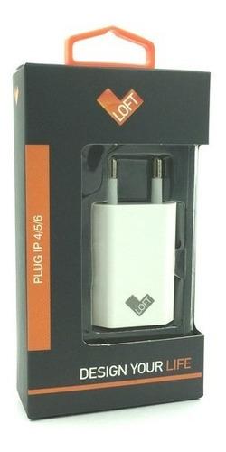 plug carregador tomada iphone básico branco - loft