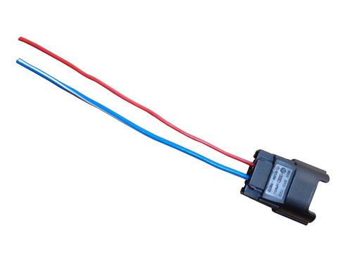 plug conector chicote bico injetor peugeot 206 207 208 307