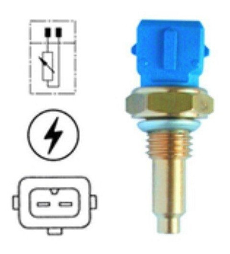 plug eletronico sensor temperatura agua gol 1.6 ap 1997