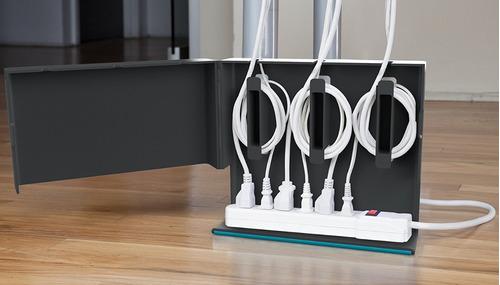 plug hub organizador de cables quirky
