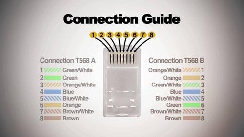 plug tyco/amp original conector rj45 high quality 50mic oro