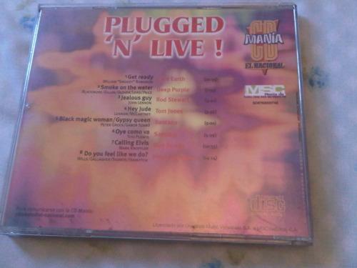 plugged 'n' live,santana, deep purple..., cd original