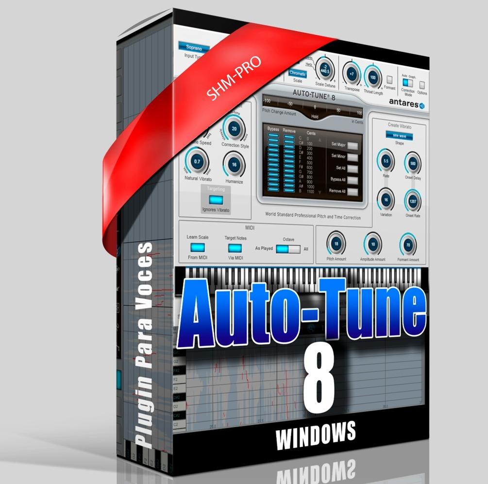 Plugin I Autotune Evo V8 I Vst3 + Aax /para Ableton Live 10