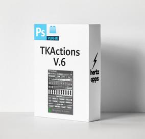 Plugin Photoshop Panel Tkactions V6 Edición Profesional