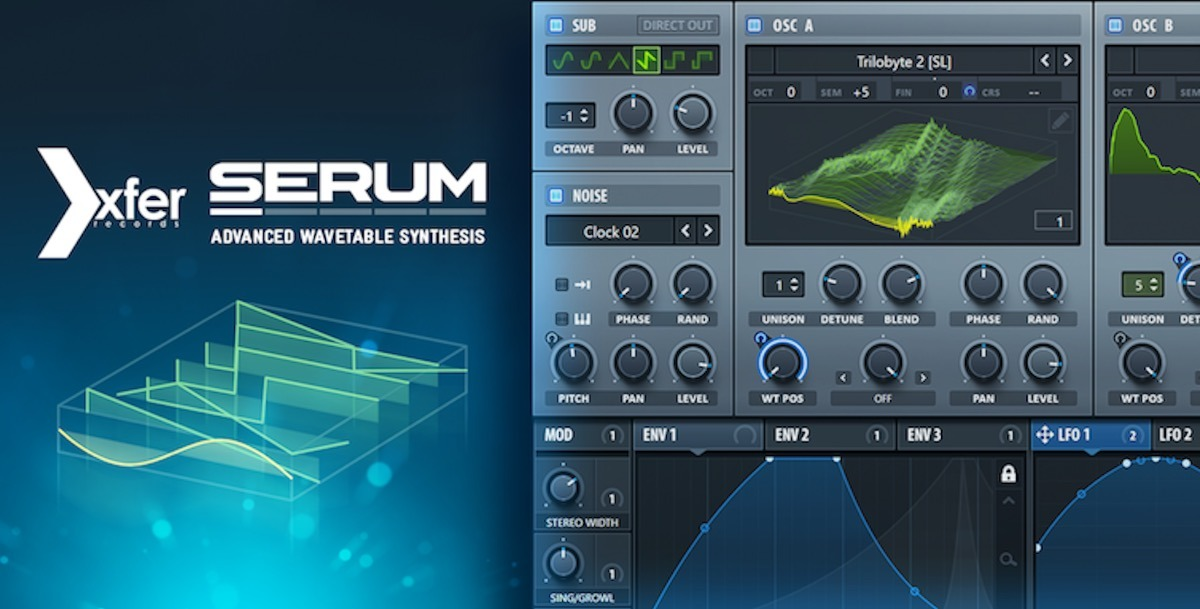 Plugin Xfer Serum + 5gb De Presets Vst V1 2 1b4 (mac E Win)
