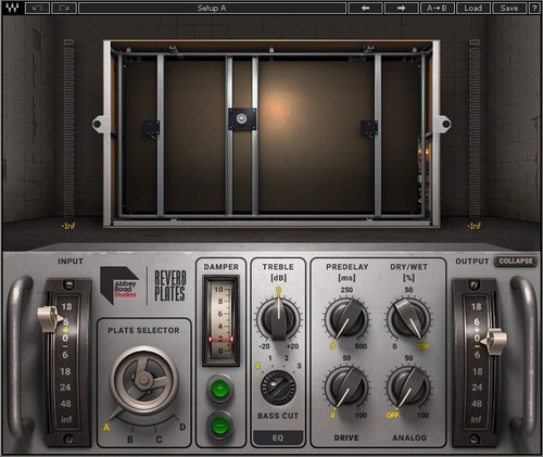Waves Abbey Road Reverb Plates User Guide