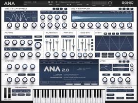 Plugins Vst - Ana 2 Sintetizador + 500 Presets
