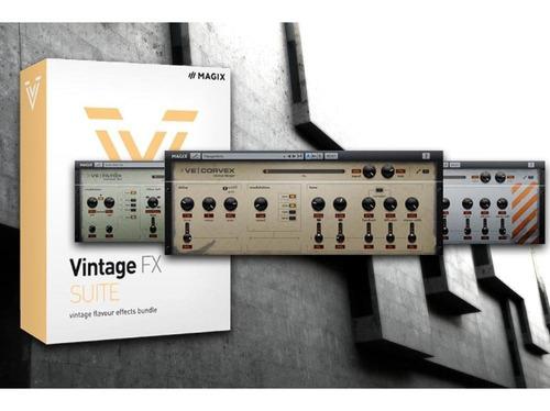 plugins vst magix vintage effects suite licencia original