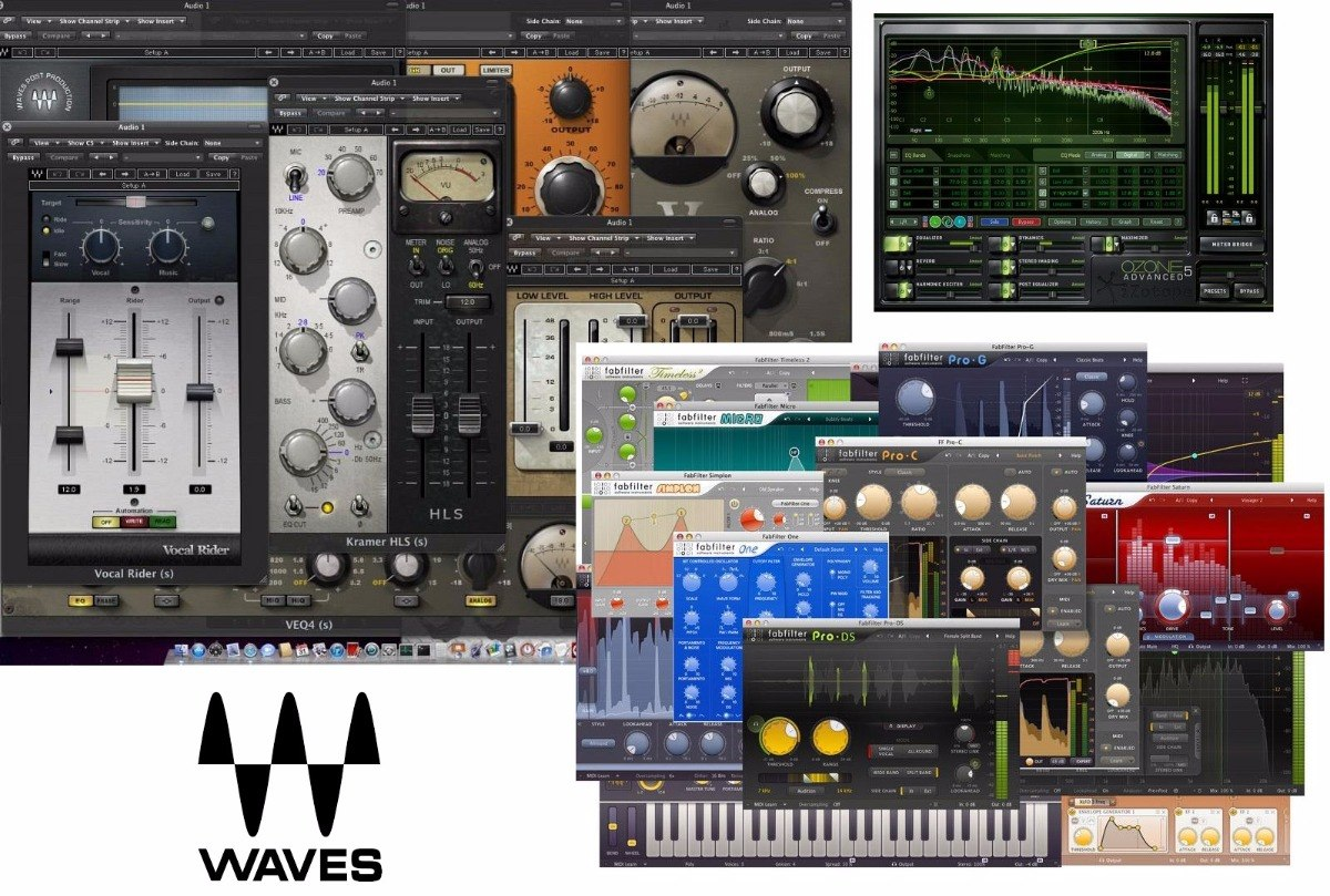 Plugins Vst Waves 9 18, Fabfilter, Izotope Ozone 5 Advaced