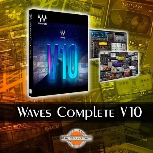 plugins waves complete v10 | vst au rtas aax | win & mac
