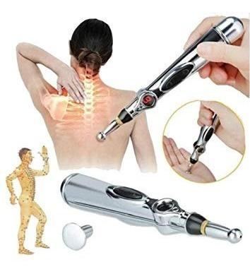 pluma acupuntura eléctrica terapia para dolor y relajación