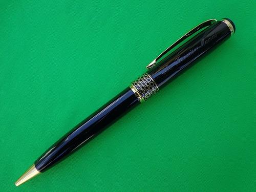 pluma bolígrafo baoer personalizada con láser envío gratis!!