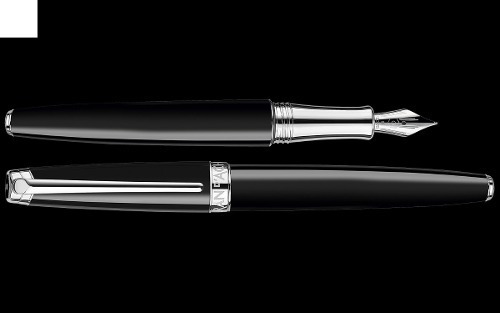 pluma carandache léman ebony negro 4799.782 | envío gratis