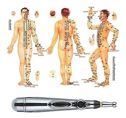 pluma electro acupuntura masaje terapia de estres y tension