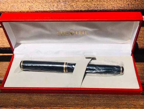 pluma estilográfica sheaffer oro 18k-750