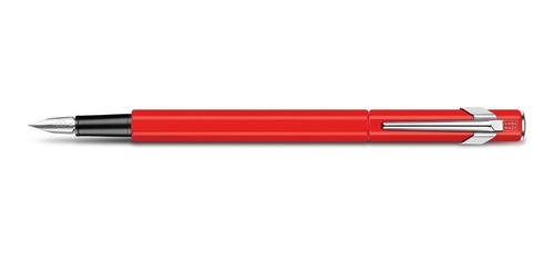 pluma fuente 849 estilográfica roja 840.570