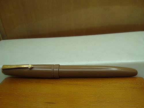pluma fuente eagle pen company epenco con frasco de tinta