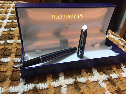 pluma fuente waterman