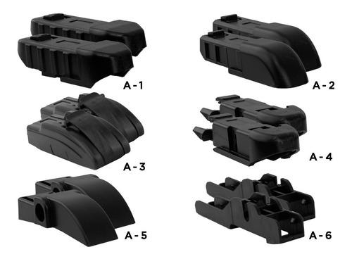 pluma limpiaparabrisas universal par con 6 adaptadores