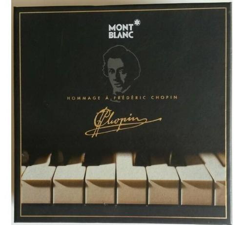 pluma montblanc colección m145 + cd chopin (450)