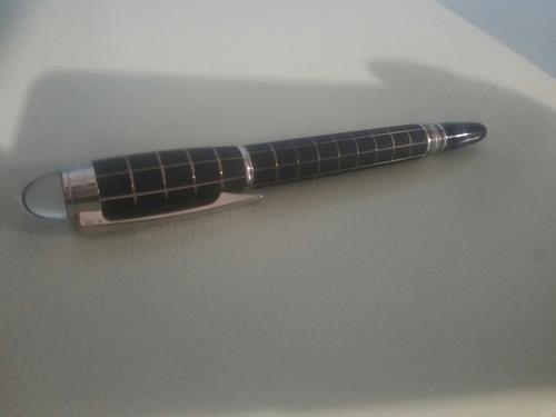 pluma montblanc starwalker metalrubber
