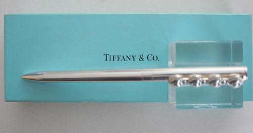 pluma tiffany  .925 plata sterling  hearts  corazones