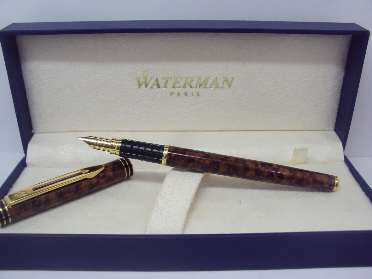Pluma vintage 80 estilografica waterman ideal paris 18k for Ideal paris