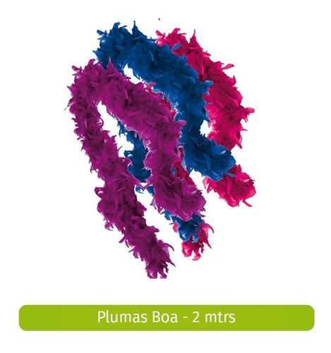 plumas boa o plumón - 2 mts - 60 grs
