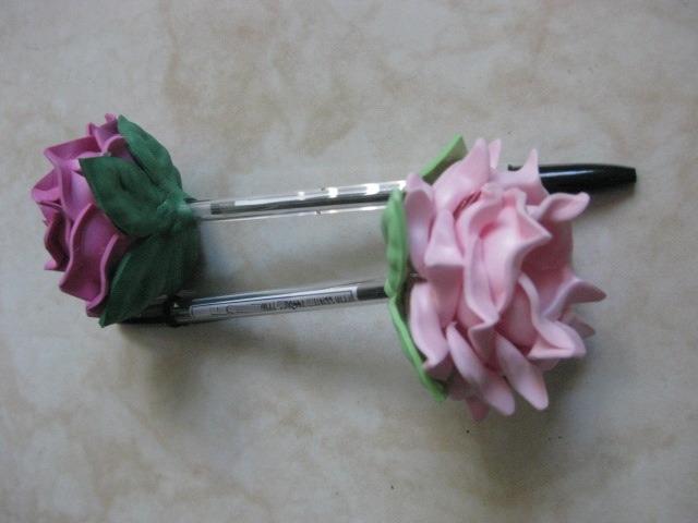 Plumas con flor de fomi 100 manualidades vv4 en for Manualidades con plumas