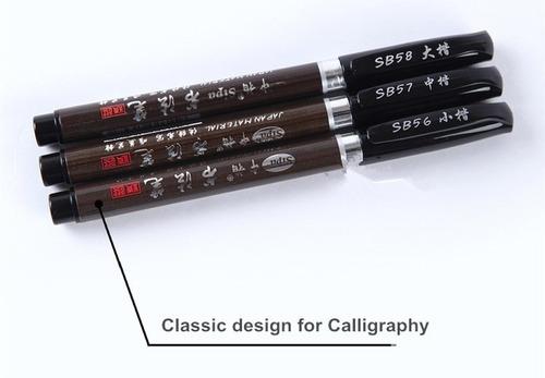 plumas plumon de arte y caligrafia - brush