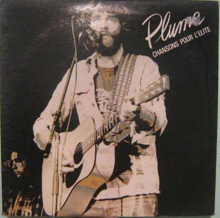 plume - chansons pour l'elite - lp importado frança