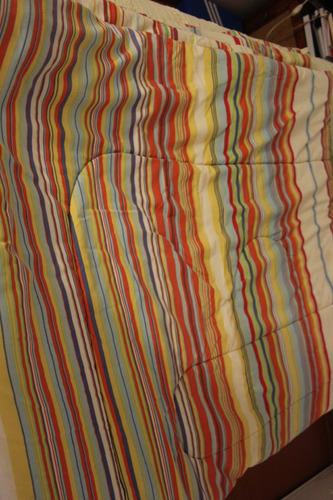 plumón  de 2 plazas colores