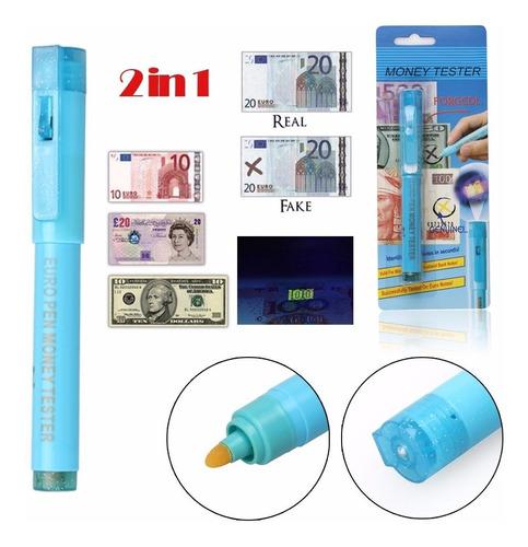 plumón detector de billetes falsos 6 unid x s/30 en 2colores