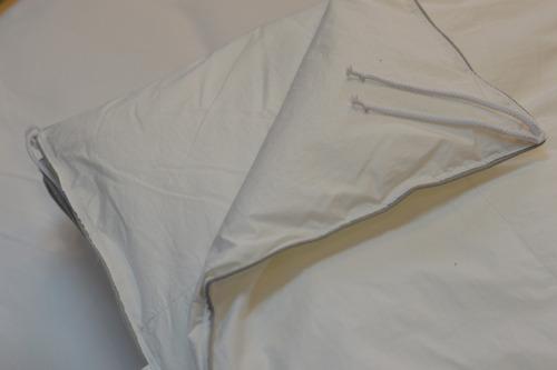 plumón sintético de fibra alemana tela antiácaros 2 plazas