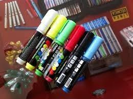 plumones 8mm para pizarra led,viniles,madera,efecto neon
