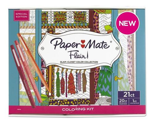 plumones escriptos papermate flair edición  glam/ c & s
