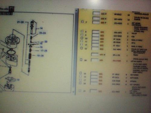 plunger kit 2012485 1180109 4t9983 6e3323 1164489