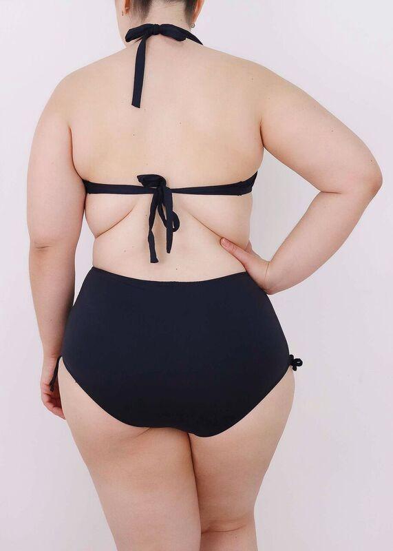 fc2fa8e4a plus size hot pants biquíni cintura alta calcinha sunkin b17. Carregando  zoom.