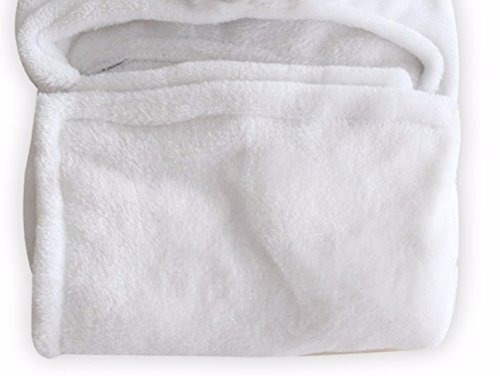 plush baby blanket for boy or girl. super-soft microfiber f
