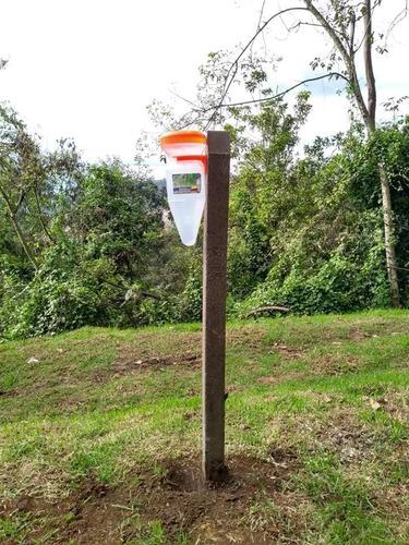 pluviómetro agricola, medidor de lluvia