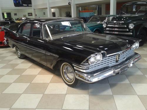 plymount belvedere - 1959 - aut. placa preta