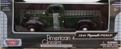 plymouth 1941 pick up  1/24 motormax