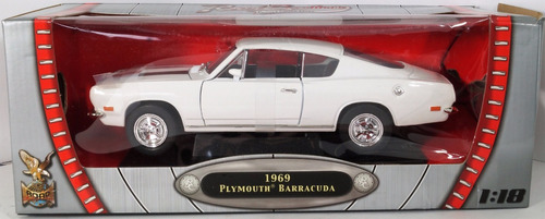 plymouth barracuda 1959  escala 1:18 road signature